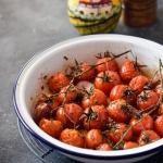 Pieczone pomidorki...