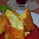 Krokiety z jajkiem i sere...