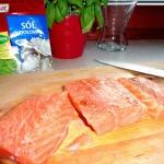 Filet z lososia z aromate...