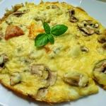 Omlet z pieczarkami i ser...