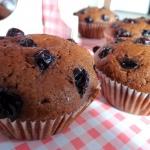 Muffiny z czarna porzeczk...