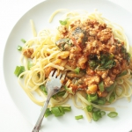 MASCARPONE LINGUINE WITH...