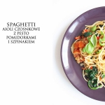 Spaghetti Pesto Aioli z p...