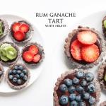 Tarty z Ganache Rumowym...