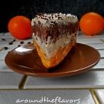 Tort kawowo pomaranczowy