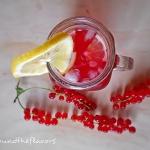 Lemoniada z czerwona porz...
