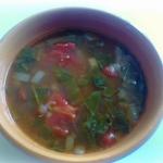Lentil soup with...