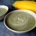 Kremowa zupa z cukinii i ...