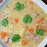 Zupa z Grochem Łuskanym