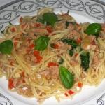Makaron Spaghetti z Tuncz...