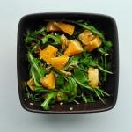 Salatka z rukola, pomaran...