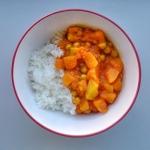 Curry z mango i dynią