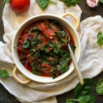 Szpinak z pomidorami (die...
