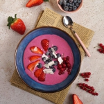 Owsiane smoothie bowl z...