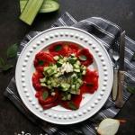 Salatka z pieczonej papry...