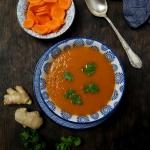 Zupa krem z marchewki (di...