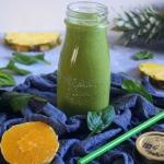 Jogurtowy zielony koktajl...
