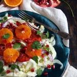 Salatka  z fenkulu, czerw...