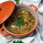 Weganska zupa z kiszonych...