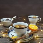 Zimowa herbata imbirowa
