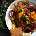 Salatka z fasolka szparag...