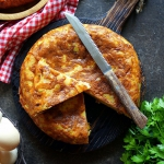 Tortilla de patatas con c...