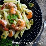 Makaron aglio & olio z kr...