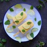 Jogurtowe lody z mango (b...