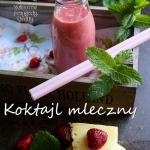 Koktajl mleczny owocowy