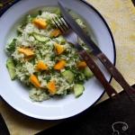 Salatka z mango i zielony...