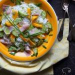 Salatka ryzowa z mango i ...