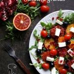 Salatka z czerwonymi poma...