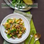 Salatka z peczakiem, gril...