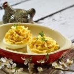 Jajka faszerowane pasta k...