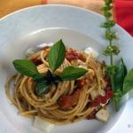 Spaghetti z pieczonymi...