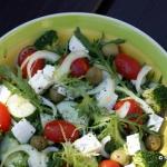 Mix sałat z pomidorkami...