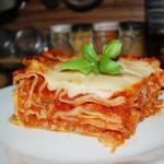 Lasagne po bolońsku z...