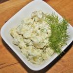 Salatka ziemniaczana o sm...