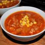 Zupa golabkowa z kukurydz...