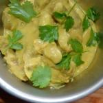 Curry z drobiowych serdus...