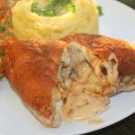Filet z kurczaka z lawą...