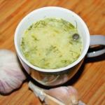 Zupa ogórkowo-koperkowa...