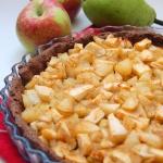 Kakaowa tarta z jablkami ...
