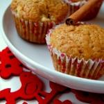 Muffiny jablkowe