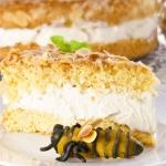 Knuspriger Bienenstich -...