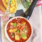 Ziemniaczane kluski w sos...