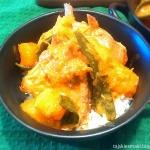 Czerwone Curry z dynią...
