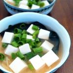 Zupa Miso z tofu i makaro...