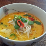 Zupa z kurczakiem  Khao...