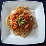Pomidorowe spaghetti z mi...